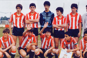 El Athletic Club de Julen Guerrero subcampeón en 1987